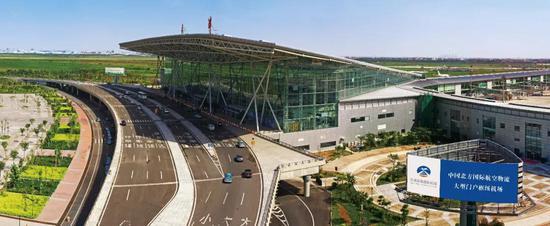 天津机场T1航站楼2008年4月启用