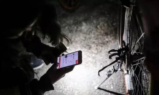 单车猎人在行动