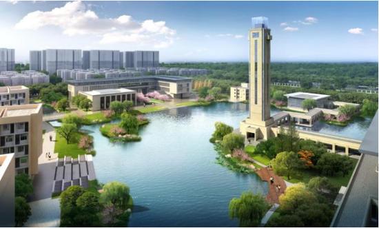 核工业大学(天津校区)效果图