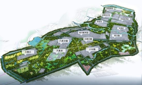 天津重磅规划 绿色生态屏障区这样建