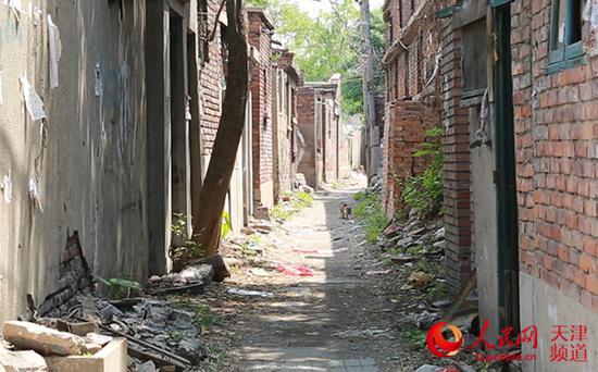 红桥区棚户区改造前的老房子。胡昱喆/摄