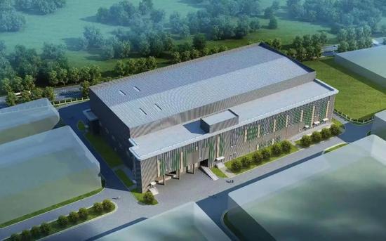 ▲康希诺生物股份公司冷藏配送中心项目