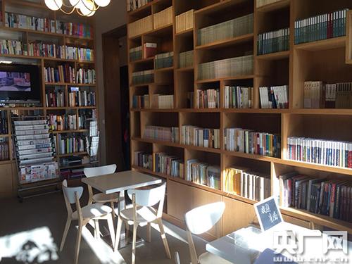 书院一楼的书吧