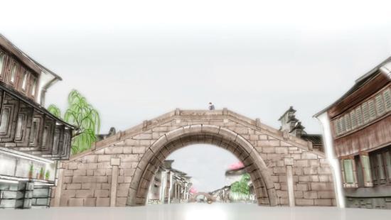 """桥是乌镇的书签,古有""""百步一桥""""之说。"""
