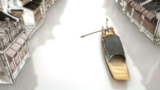 小小的乌篷船是感受乌镇风情的绝佳载体,它是水乡的精灵。