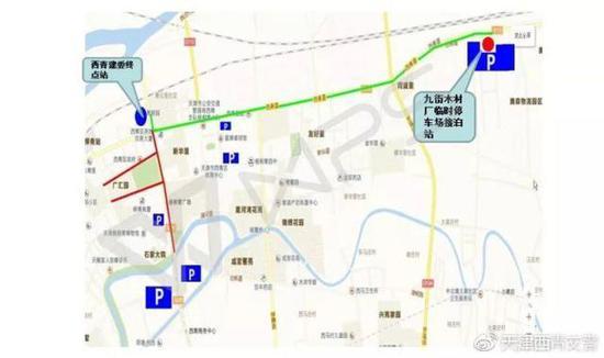 3、复康路-津静公路-柳霞路-润杨道-柳口路进入杨柳青镇区;