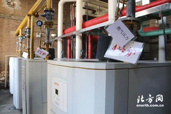 燃气能源站集中供热锅炉房图片