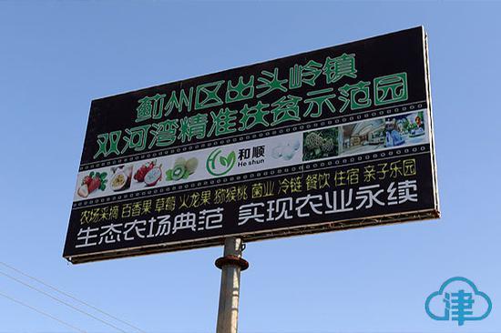 双河湾农业精准扶贫试验示范园区