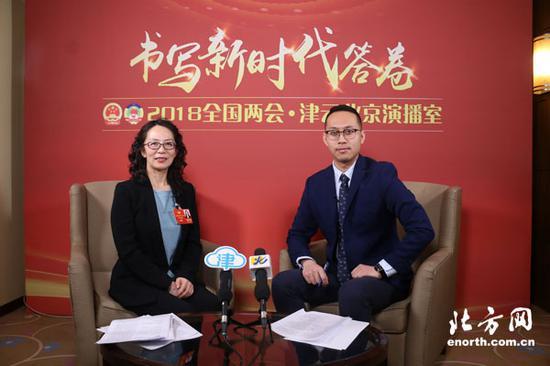 全国政协委员卢永琇做客津云北京演播室