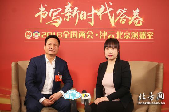 全国人大代表杨光做客津云北京演播室