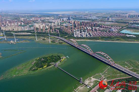 蓟运河出海口沿岸