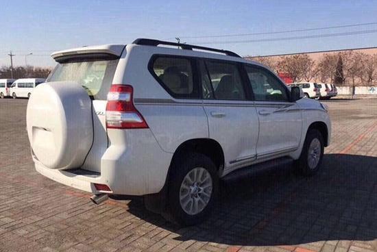 丰田霸道4000中东版全国最低现车充足