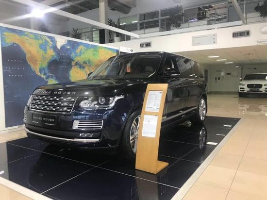 公司地址及名称:天津保税区海滨九路森扬国际汽车城 海路丰汽车贸易图片