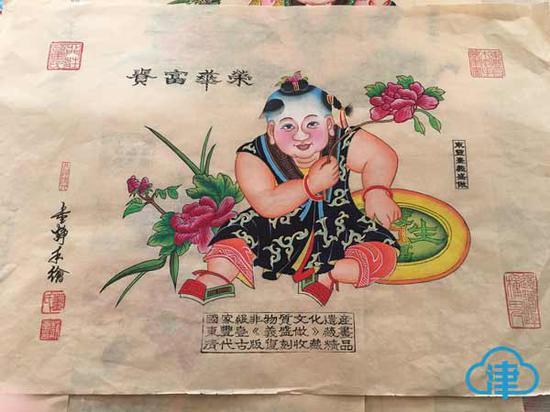 东丰台木版年画