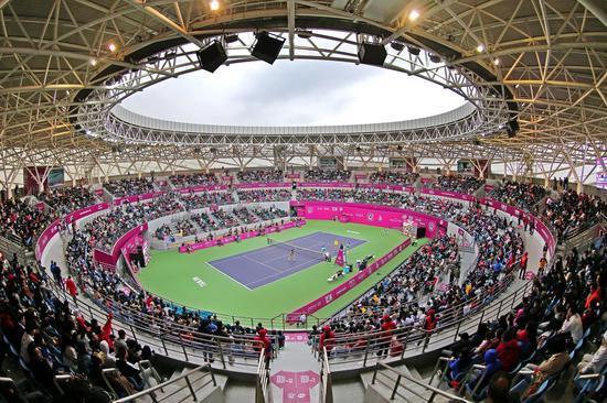 2017天津网球公开赛决赛现场