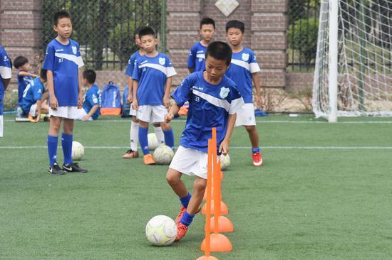 2018年天津市青少年足球后备人才夏季训练营开营