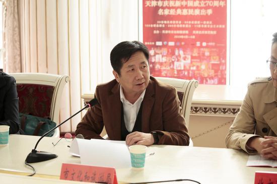 天津市庆祝新中国成立70周年 名家经典惠民演出季即将拉开帷幕