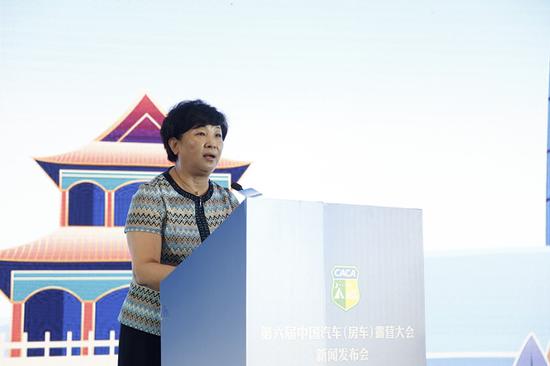 天津市体育局局长李克敏发言