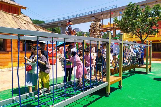 承德清河源综合旅游度假区萌宠乐园正式启幕