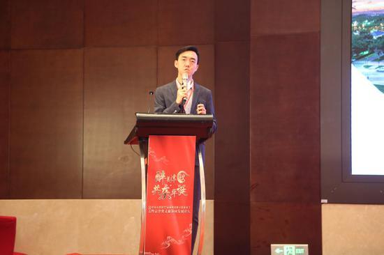 华为数字政府业务部文旅行业解决方案副总工陈刚睿