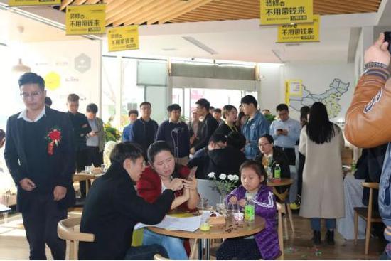 快乐时时彩计划软件下载_天津柠檬树滨海店——活动现场氛围