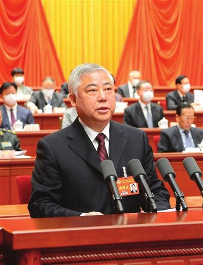 盛茂林作市政协常委会工作报告