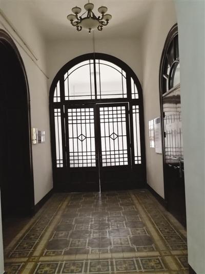 主楼的走廊(现状)