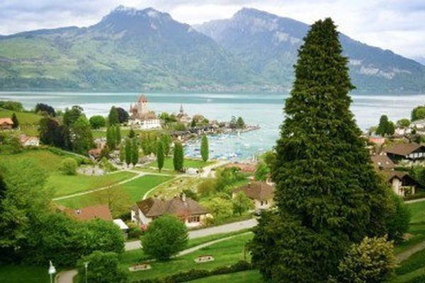 瑞士小镇——施皮茨