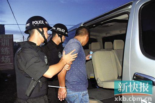 """在""""骄阳2""""行动中,涉案人员被抓获。"""