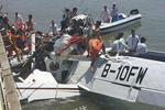 飞机撞桥幸存者讲述惊魂瞬间:飞机突然90度急转