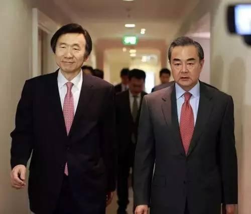 王毅会见韩国外长尹炳世