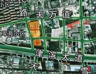 东丽区津滨大道地块