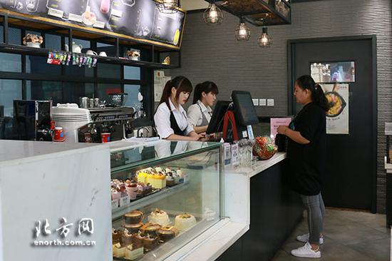 滨海新区的9家门店仍在经营