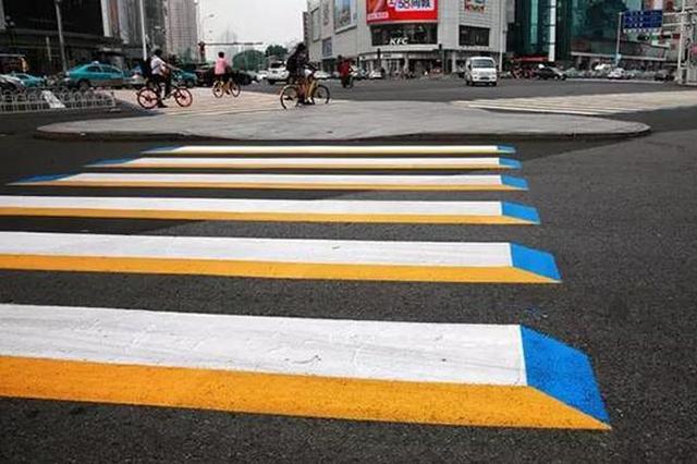 天津3D斑马线获好评 将逐步登陆人多车多路口