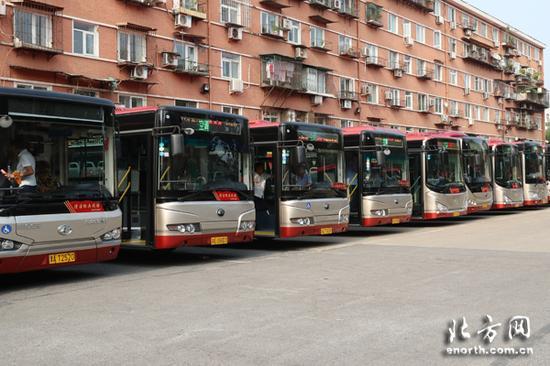 公交车清洁标兵线路运营