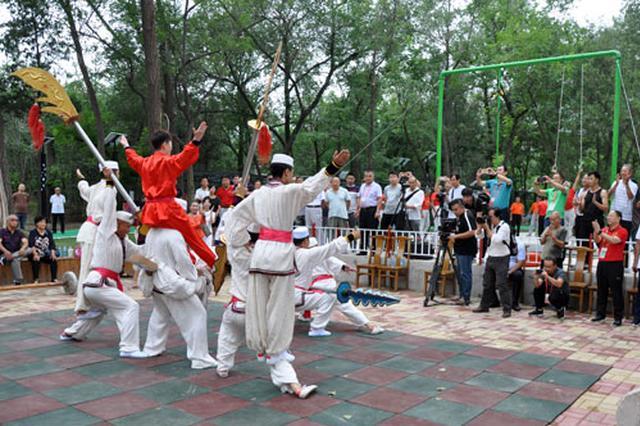 """西沽健身中心迎来群众体育""""考察团"""""""