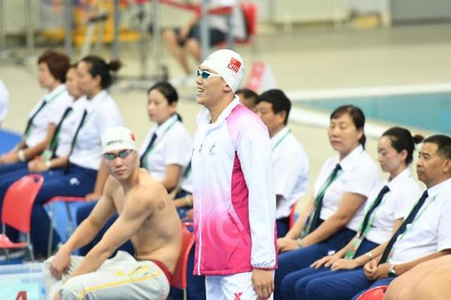 全运会游泳第二日 天津选手李响、杨金潼获得铜牌