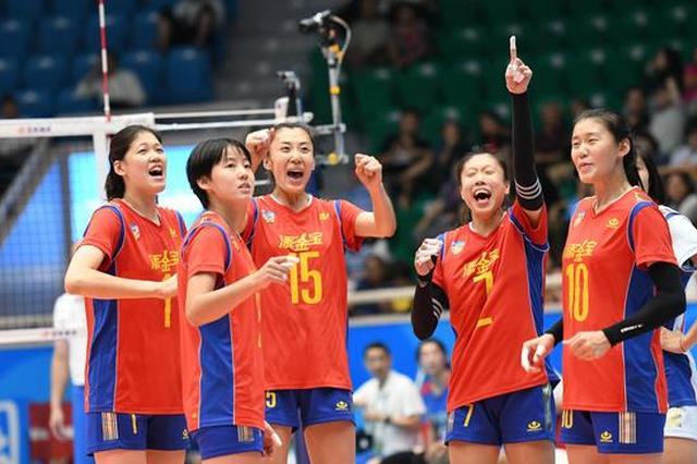 开门红!天津青年女排3-1取胜辽宁 全运志在冠军