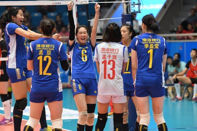 天津青年女排3-0山东闯入决赛 将与辽宁争冠军