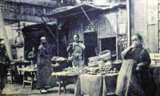 明清时期的传统市集