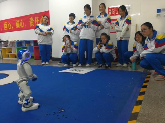 天津工业大学举行天津市优质中学进校园学访活动