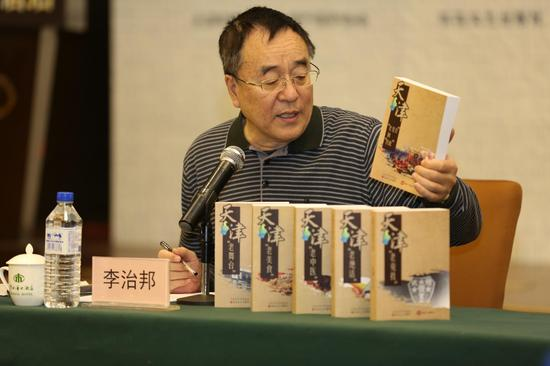 天津市非物质文化遗产保护协会会长李治邦(摄影 张春生)