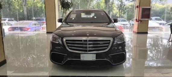 2019款奔驰S63AMG顶级行政商务豪降10万