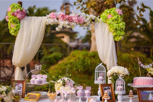 天津上周末婚礼超4000场 户外婚礼占四成