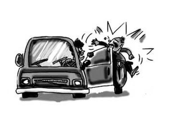 天津一网友开车门致人死亡 赔28万