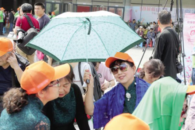 津城14日35℃史上同期第二高 15日夜雷雨来降温