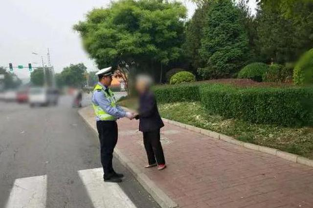蓟州警方救助四名老人 还有一个是从河北省走来的