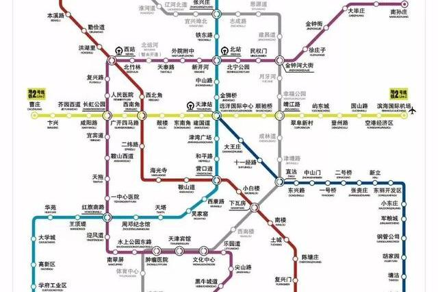 天津地铁6号线延伸3站至津南 辐射多个居民区