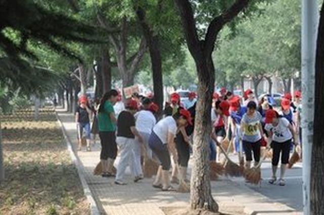 天津市全面开展国家卫生区创建工作