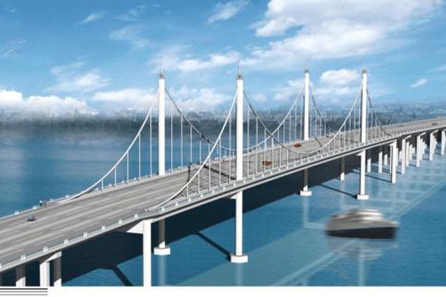 新区滨海大桥27日起断交施工 桥下辅路可通行